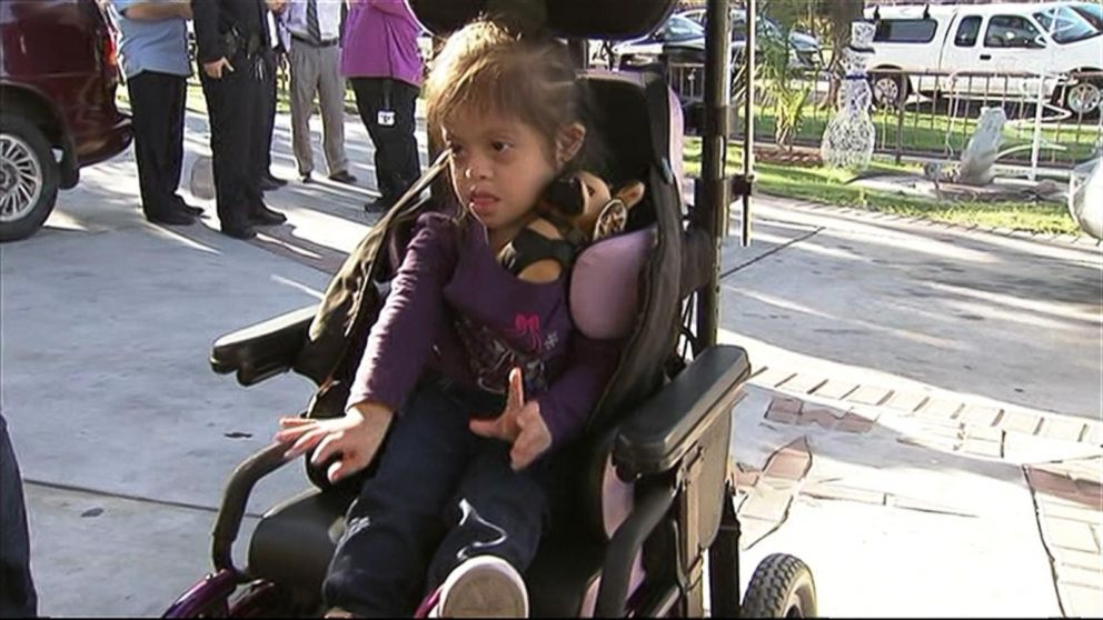 California Girl's Stolen Wheelchair Replaced in Time for Christmas