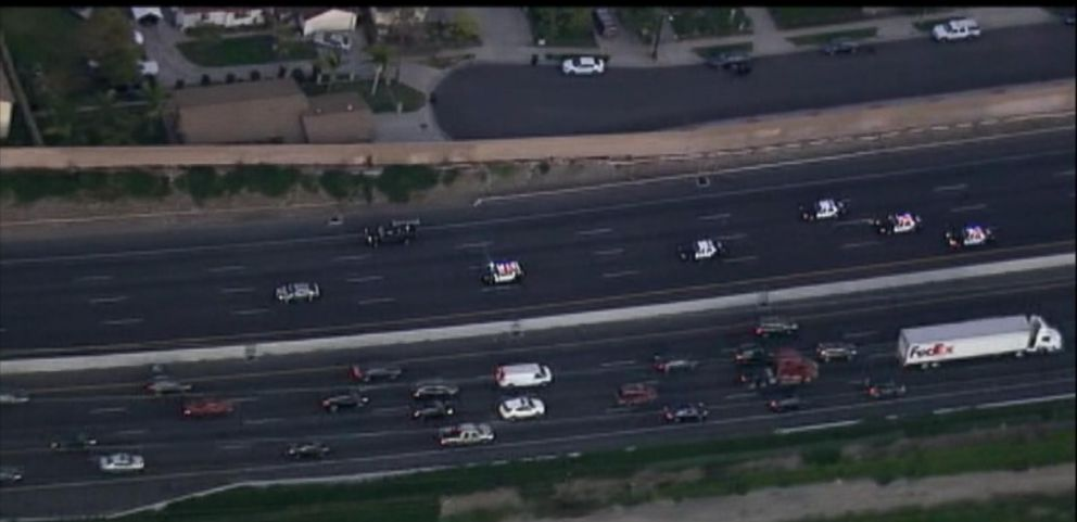 VIDEO: Dramatic Video of LA Car Chase