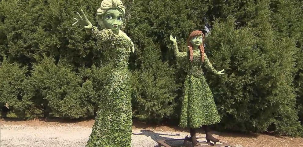 VIDEO: Rare Behind the Scenes Look at the 2015 Epcot Flower and Garden Festival