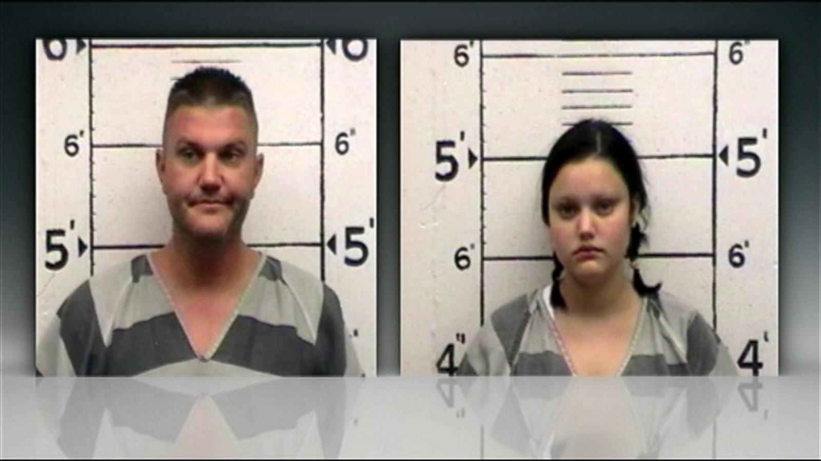 Father and Daughter Accused of Robbing Bank, Leading Cops on