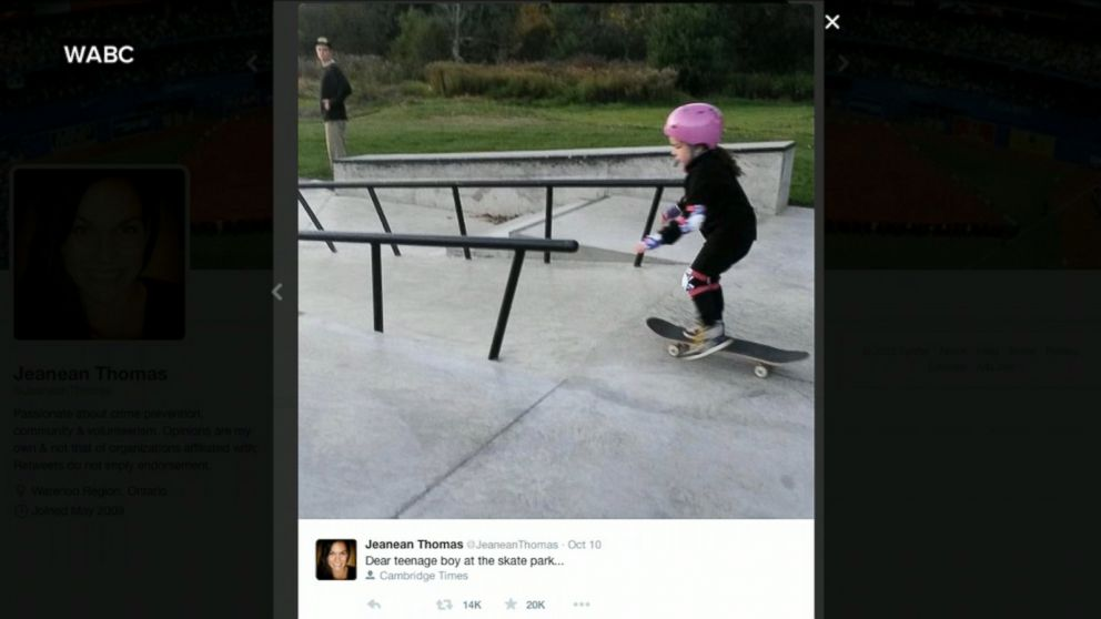 See Teen Introduce Skateboarding to 6-Year-Old Girl - ABC News