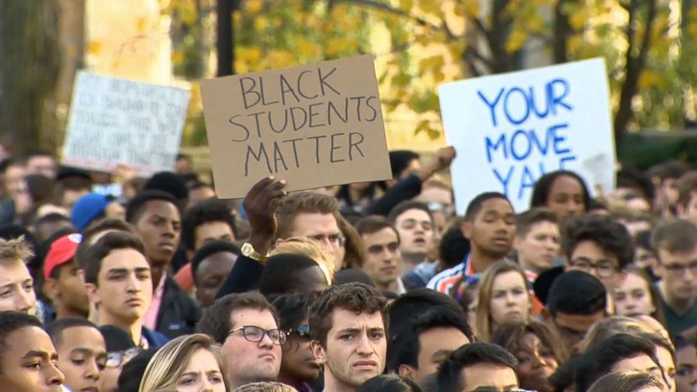 The Allegations of Racism at Yale That Culminated in Over 1,000 Marching  for Justice on Campus - ABC News