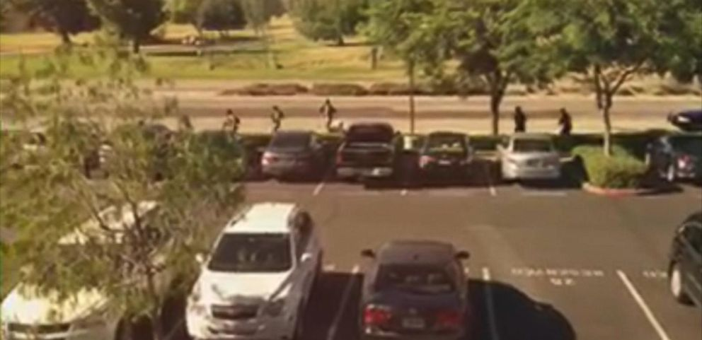 VIDEO: Dorothy Vong, a nurse at the Inland Regional Center, says she thought it was an active-shooter drill.