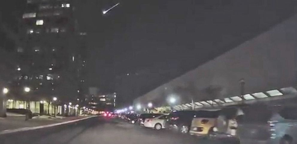 VIDEO: Fireball Meteor Caught on Camera in Virginia and Ohio