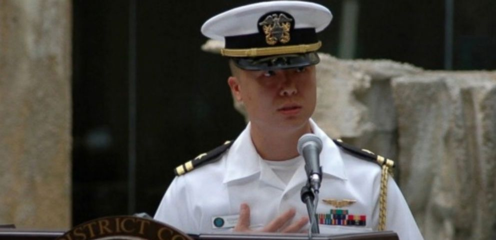 VIDEO: A U.S. Naval officer who has been charged with espionage has been identified as Lt. Cmdr. Edward C. Lin, a Taiwanese-born flight officer assigned to a Naval reconnaissance unit.
