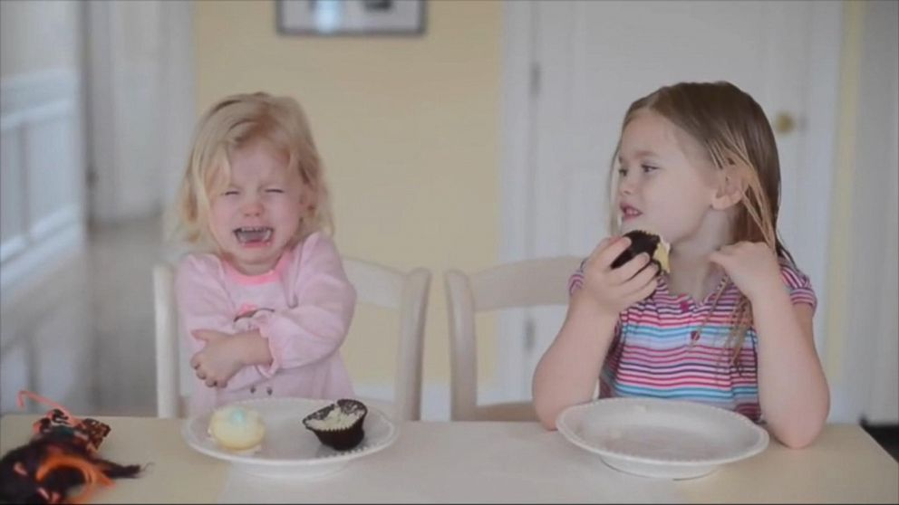 Little Girls Have Adorable Reaction to Baby Sex Reveal