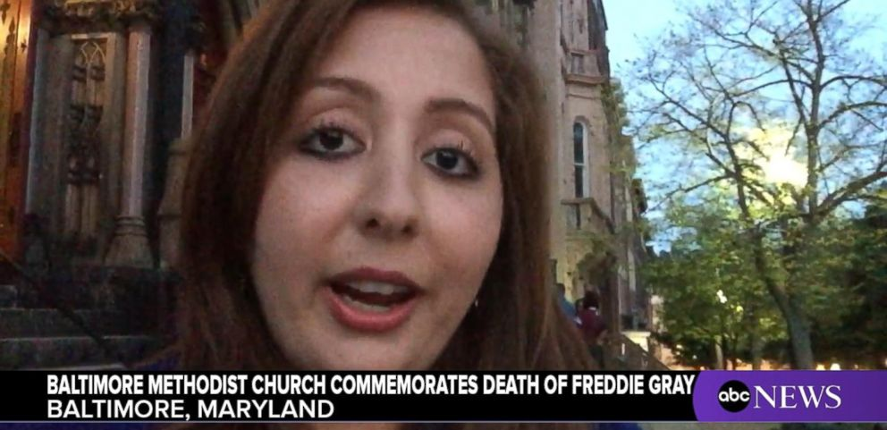 VIDEO: Baltimore Methodist Church Commemorates Life of Freddie Gray