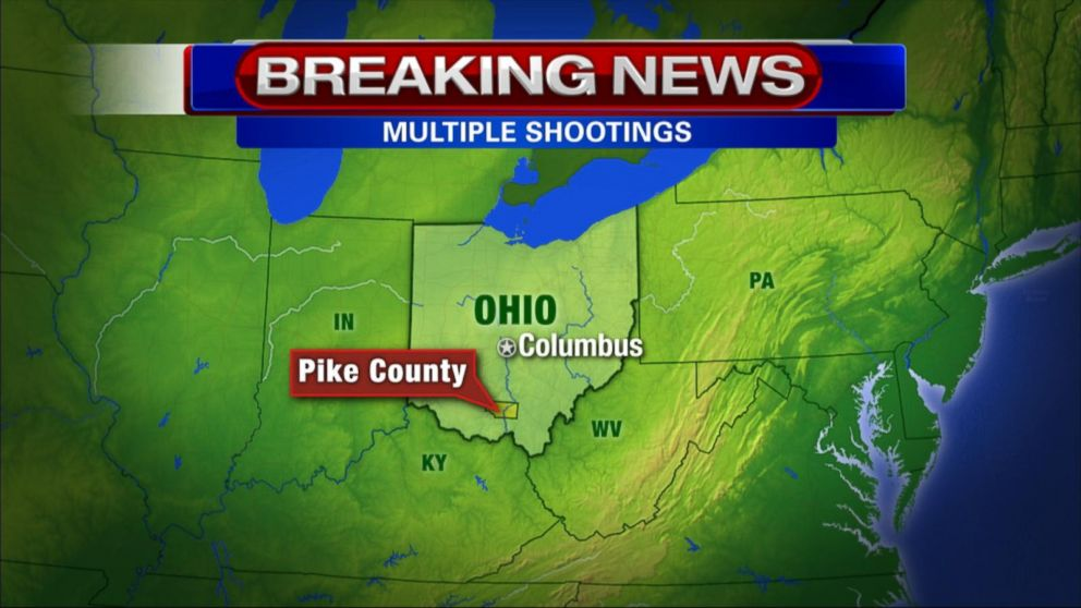Law Enforcement Officials Respond To Shots In Peebles Ohio Video