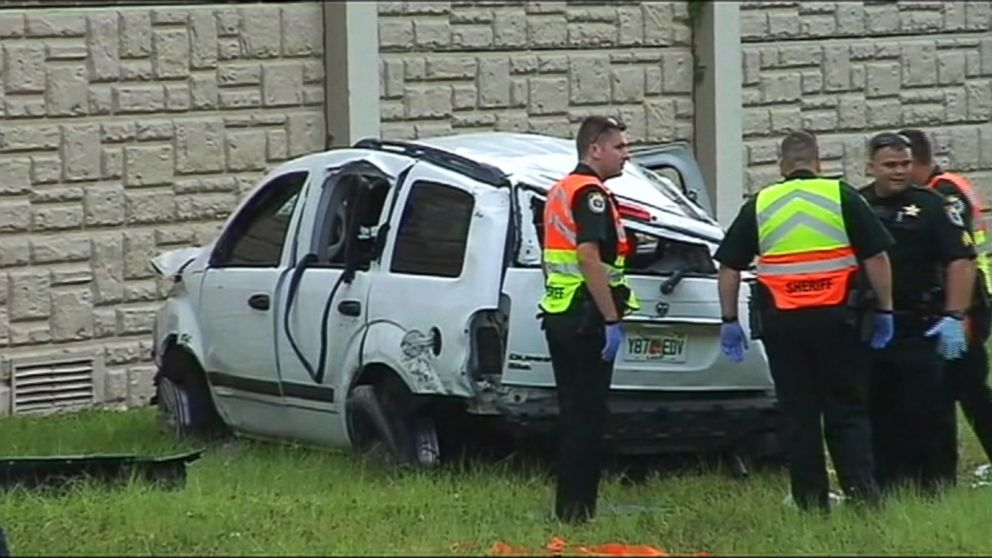 3 Girls Killed, 8 Injured in Car Crash Near Orlando, Florida