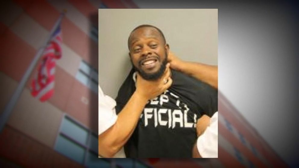Texas Man Says He Was Choked For Smiling In Mug Shot Abc News
