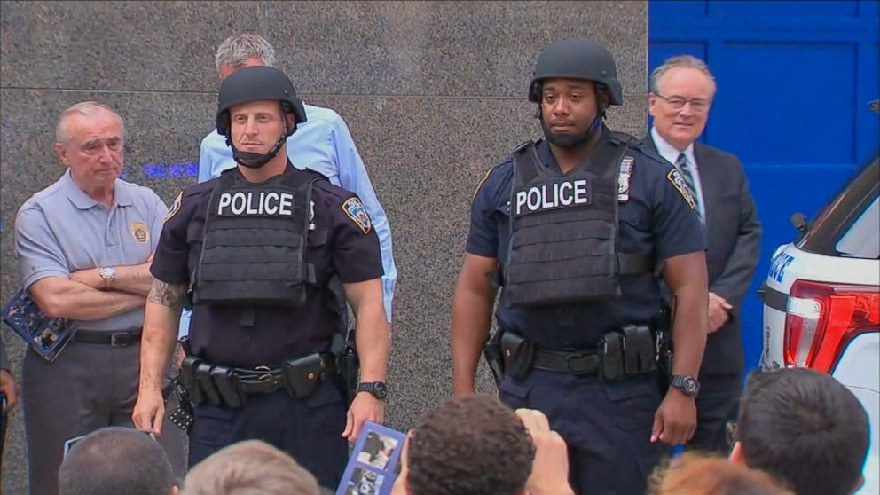 53b79307 As NYPD Suits Up With Heavier Body Armor, Other Police Departments ...