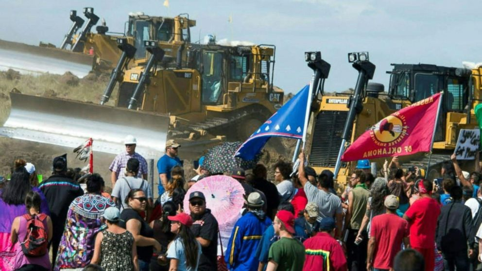 Showdown Looms at Dakota Access Pipeline Protest as Vets, Civil Rights Observers Converge Before Evacuation Deadline