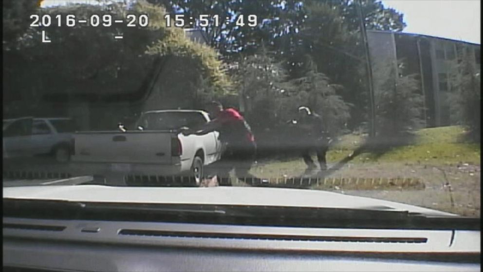 VIDEO: Police DashCam Video of Fatal Shooting of Charlotte Man