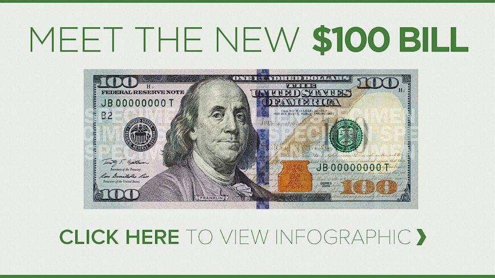 New 100 Dollar Bill 2019 Meet the New $100 Bill   ABC News