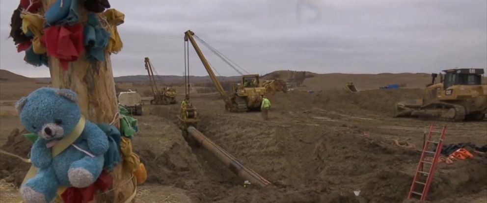 VIDEO: Timeline of Dakota Access Pipeline Development