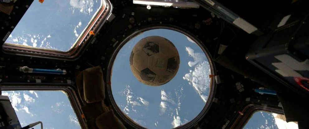 Soccer Ball Salvaged From Challenger Blast Makes it Into Space After 31 Years