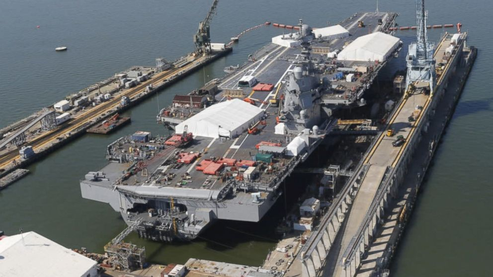 Why China And Russia Fear America S New Ford Cl Aircraft Carriers