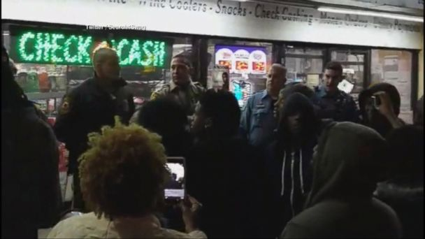 Shots fired at Ferguson protest sparked by documentary