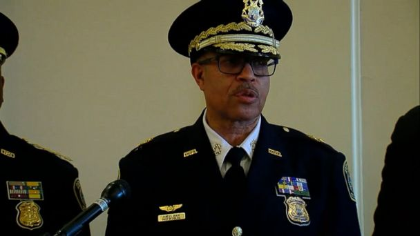 DNA links Detroit cop shooting suspect to November murder, chief says