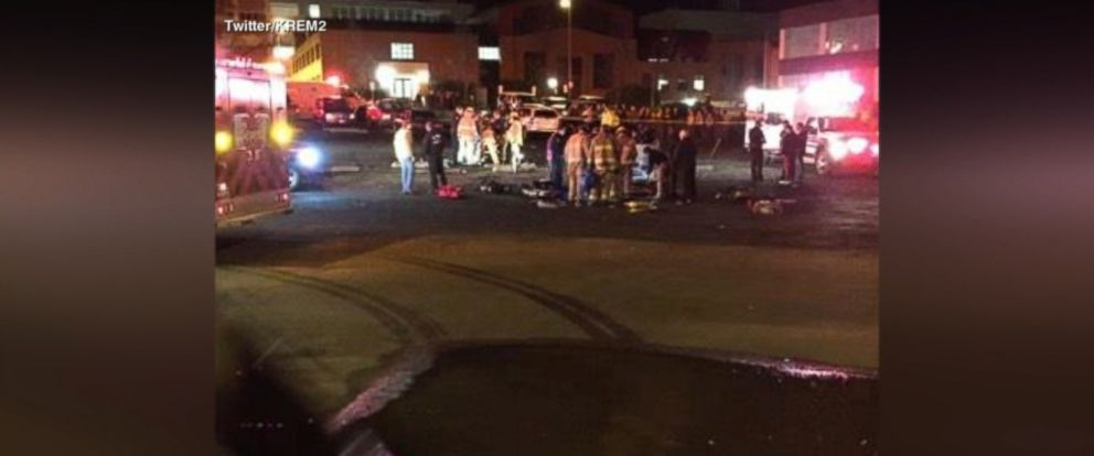 VIDEO: Four people were injured at the University of Idaho campus on Thursday night after an explosion stemming from an experimental rocket test gone awry, school officials and local authorities said.