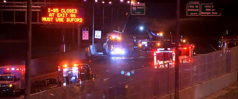 VIDEO: Officials said the interstate should remain closed for at least 6 hours.