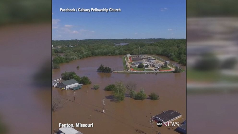 Levee breaks in Arkansas as record flooding continues to plague the