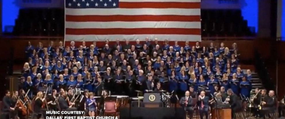 "President Trump started Independence Day with a tweet featuring a church choirs performing its rendition of ""Make America Great Again."""