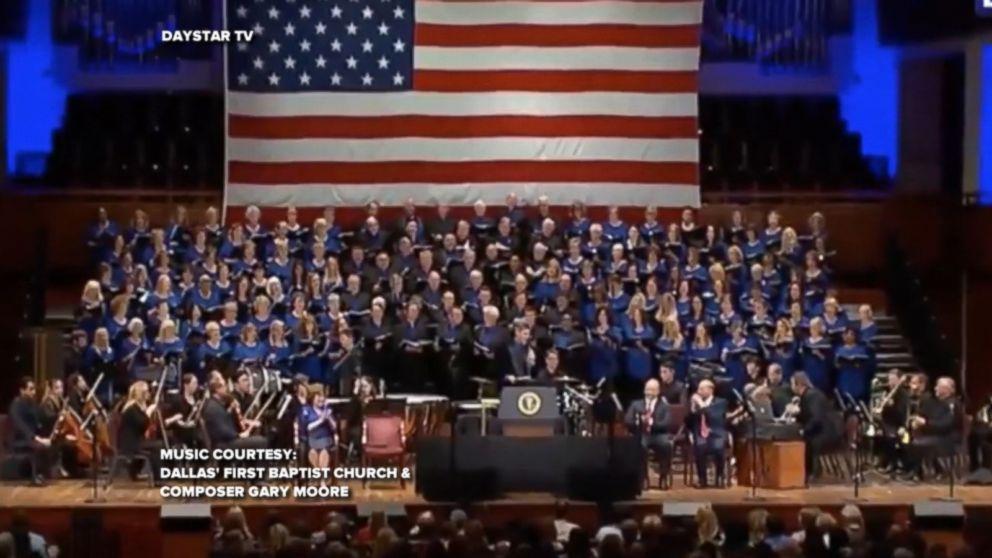 Church Choir Sings Make America Great Again Song Video Abc News