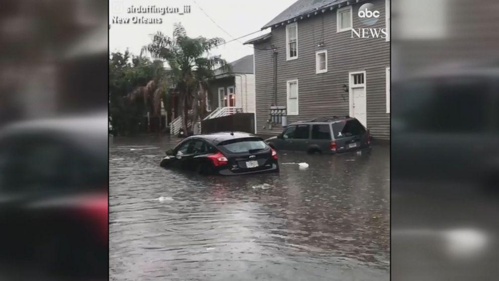 Flash flooding inundates New Orleans Video - ABC News