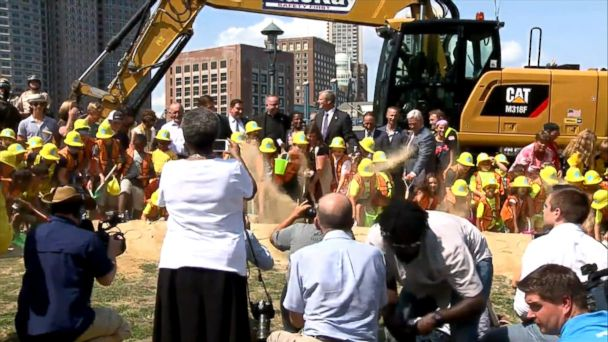 New park honors 8-year-old killed in Boston Marathon bombing