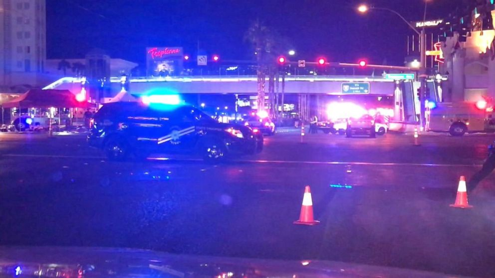 Abc Las Vegas >> Reports Of Active Shooter On Las Vegas Strip