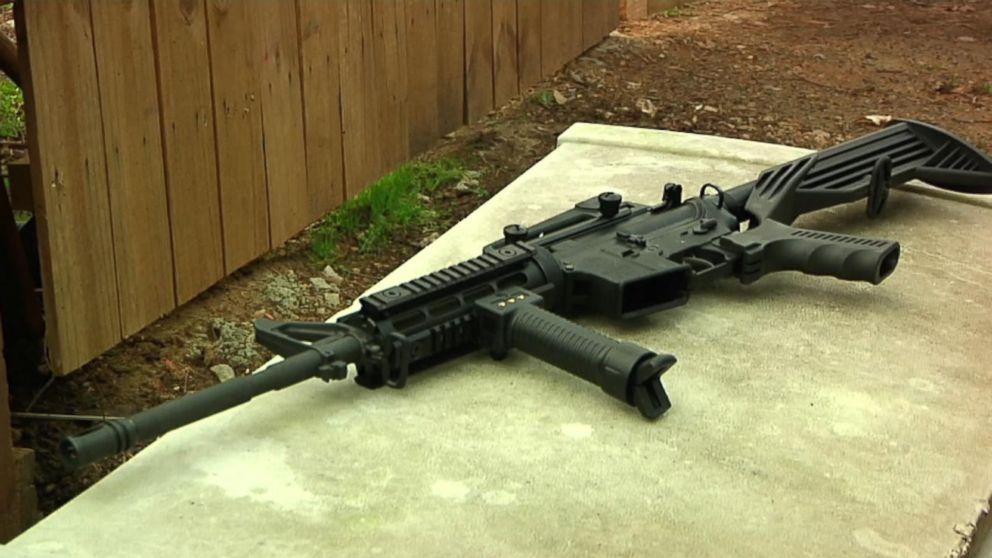 How bump stocks turn semiautomatic rifles into near