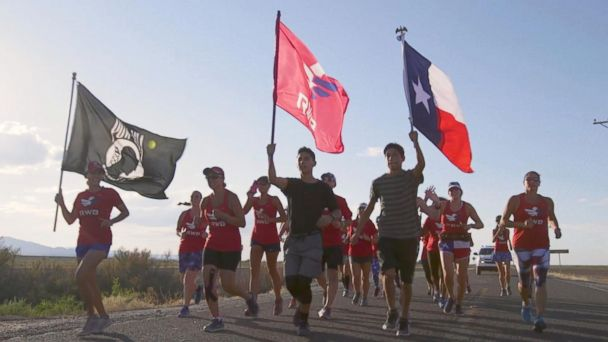 Old Glory Relay brings together veterans from around the US
