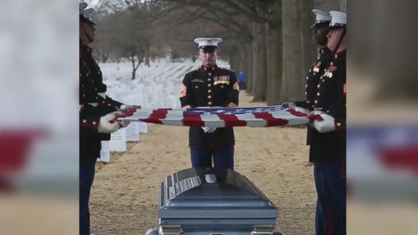 First enlisted female Marine honored in death