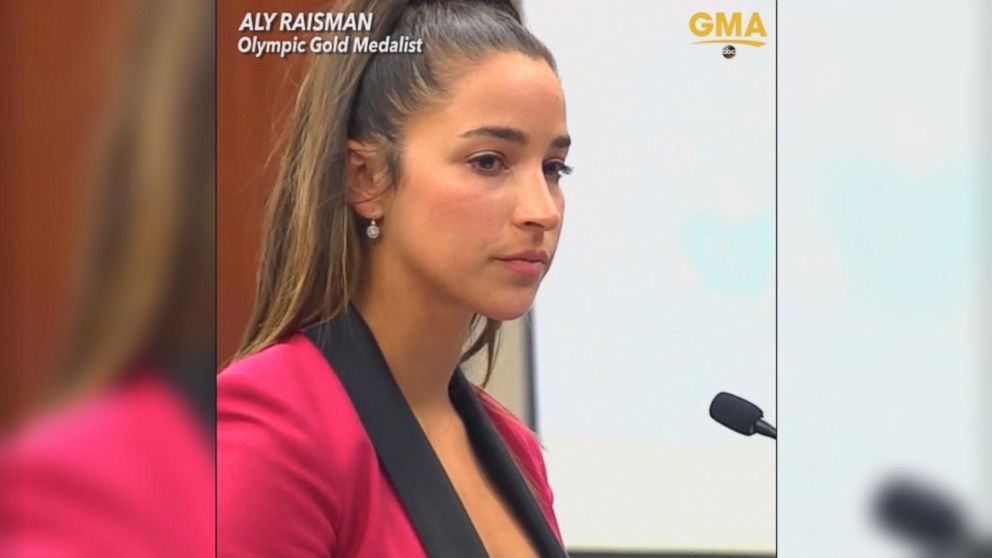 VIDEO: These are the brave women who confronted disgraced Olympic doctor Larry Nassar
