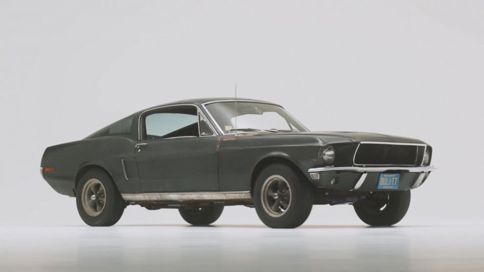 STEVE MCQUEEN BULLITT ICONIC CAR FORD MUSTANG GT 4-SPEED AUTO PHOTO AUTOMOBILIA