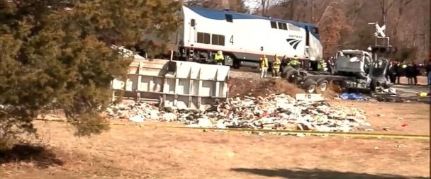 Truck driver in last week's train crash was trying to go through a