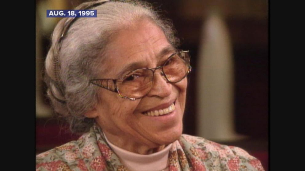 Rosa Parks honored with statue in Alabama on 64th anniversary of bus protest