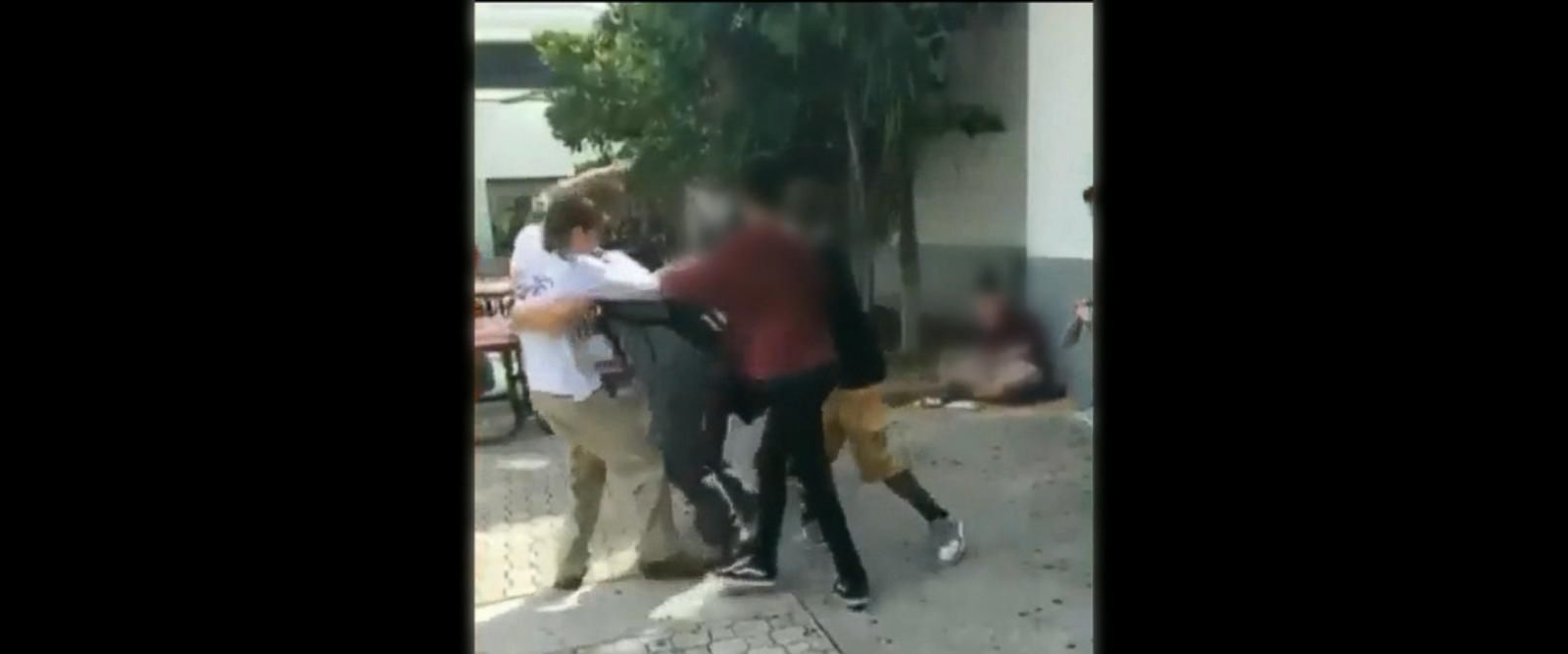 VIDEO: Video of alleged Florida school shooter fighting his classmates surfaces