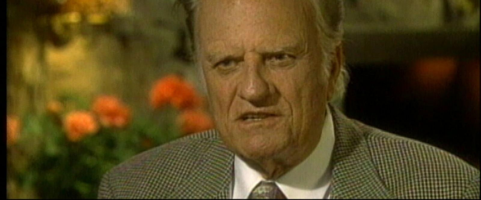 VIDEO: The Christian evangelist died at his home this morning, a family spokesman said.