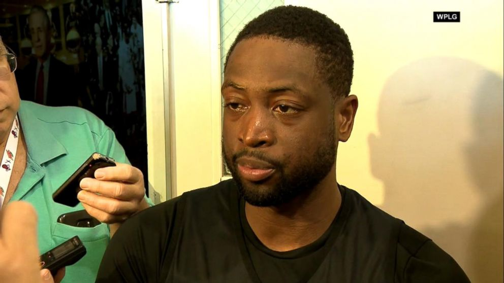 6aefe885d91 Dwyane Wade s emotional response to school shooting victim buried in ...