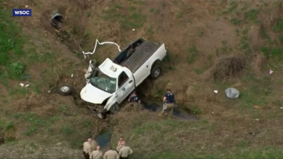 Inmate dies in car crash after stealing work truck, authorities say