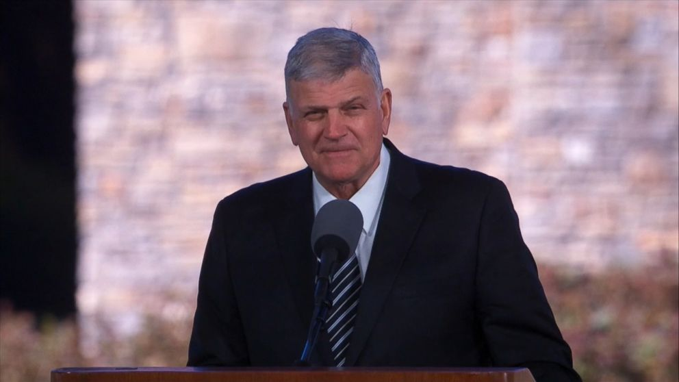 Speaking at a funeral service
