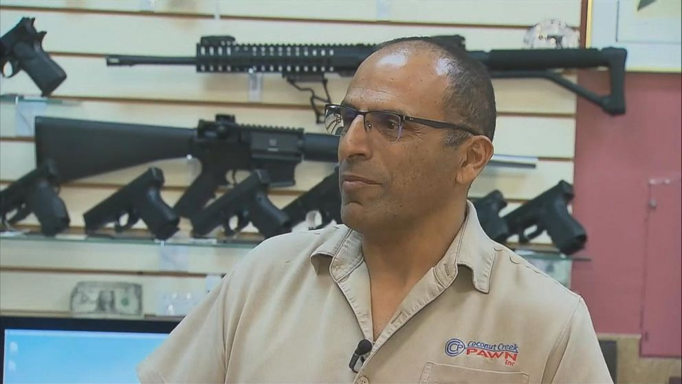 Gun shop owner says he turned away Florida shooting suspect from buying  AR-15