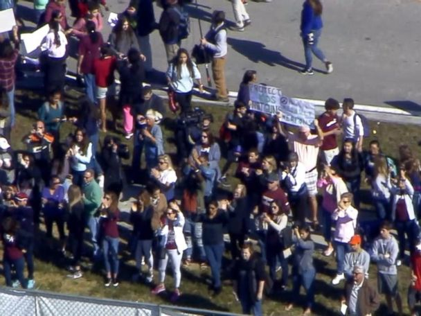 WATCH:  Parkland students join national school walkout