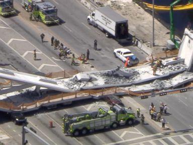 WATCH: Witness says Florida bridge collapse felt like an 'earthquake'