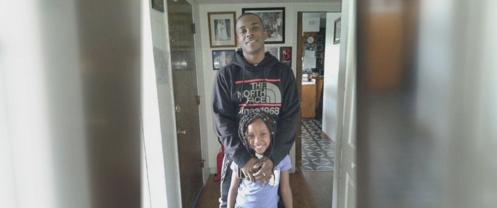 Stephon Clark was in his grandmother's backyard, trying to get into the house.