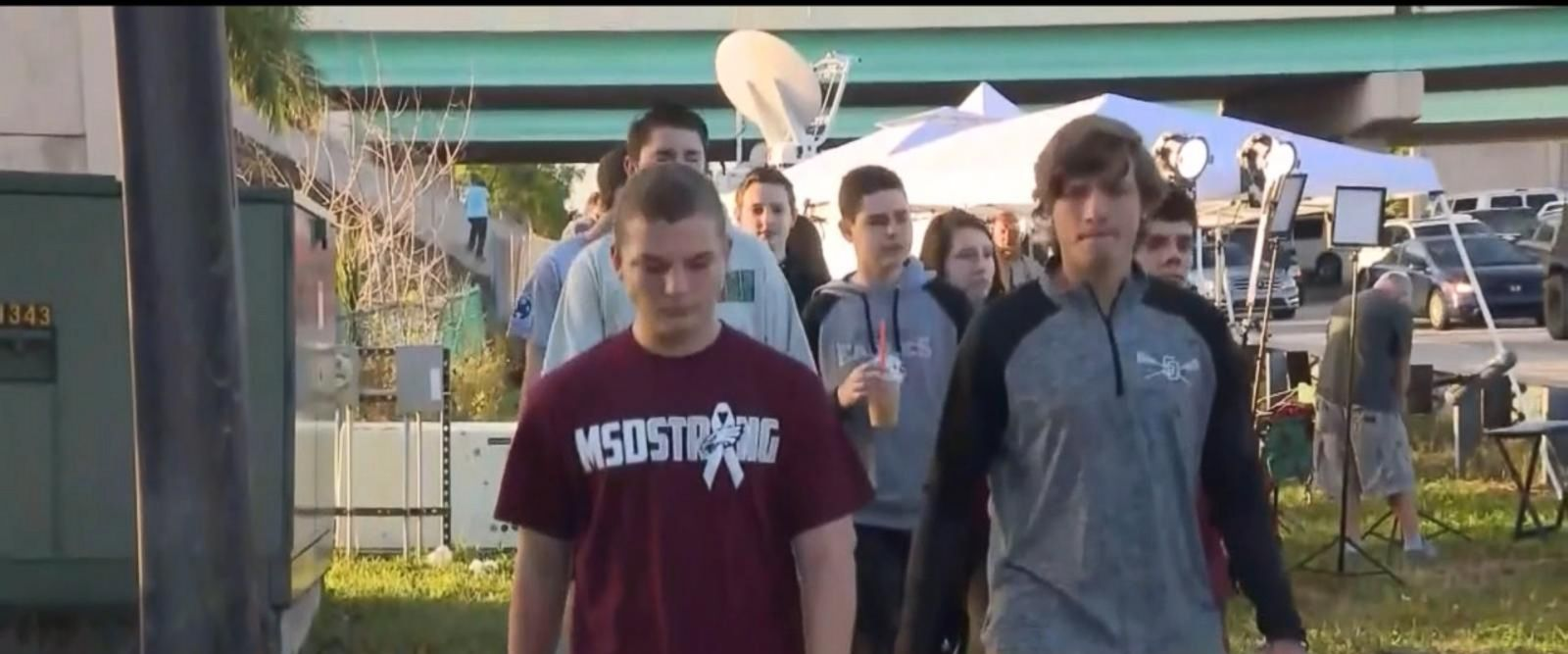 VIDEO: When Marjory Stoneman Douglas High School students return from next week's spring break, they will be required to use only clear backpacks at school, the superintendent said.