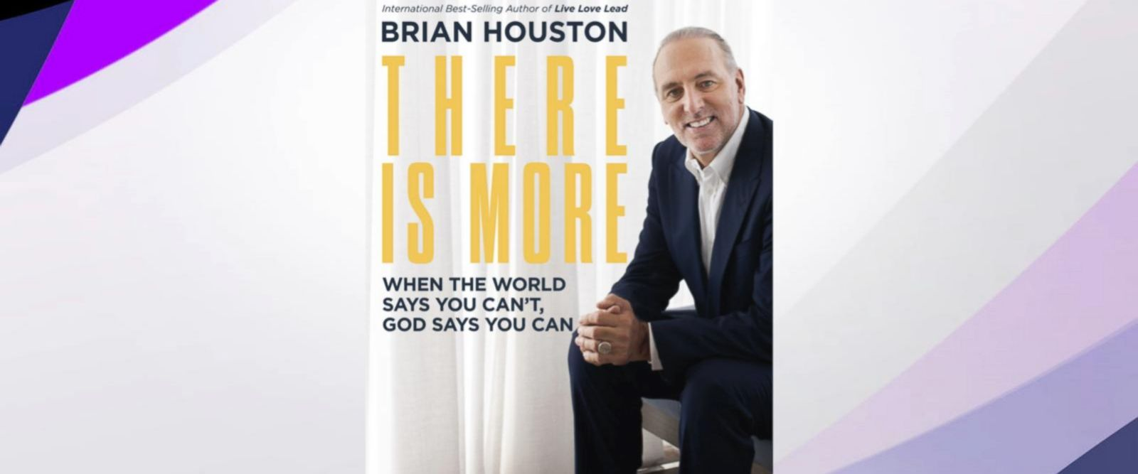 VIDEO: Hillsong Church Senior Pastor Brian Houston talks new book 'There is more'
