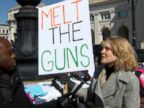 WATCH:  School librarian says 'arm me with my books,' not guns